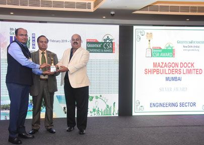 MDL Received 6th Annual Greentech CSR Award 2018
